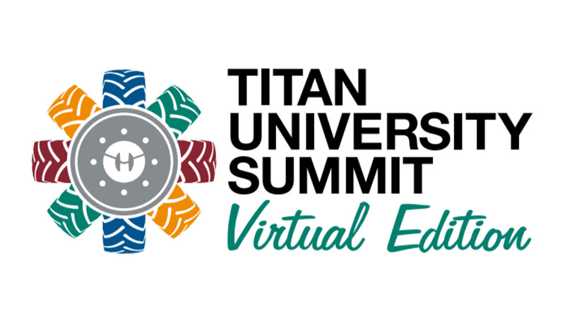 2021 Titan University Summit Virtual Edition Emblem