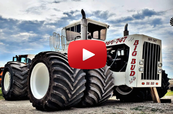 big bud 747 Titan Goodyear Farm Tires Video