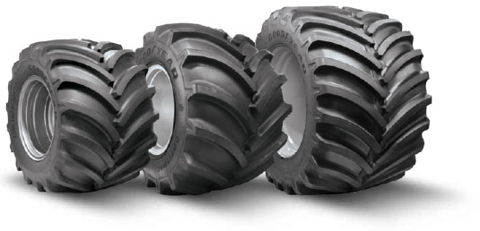 Goodyear LSW Super Single Flotation Tires