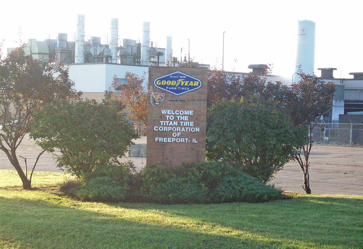 Freeport Illinois Tire Facility