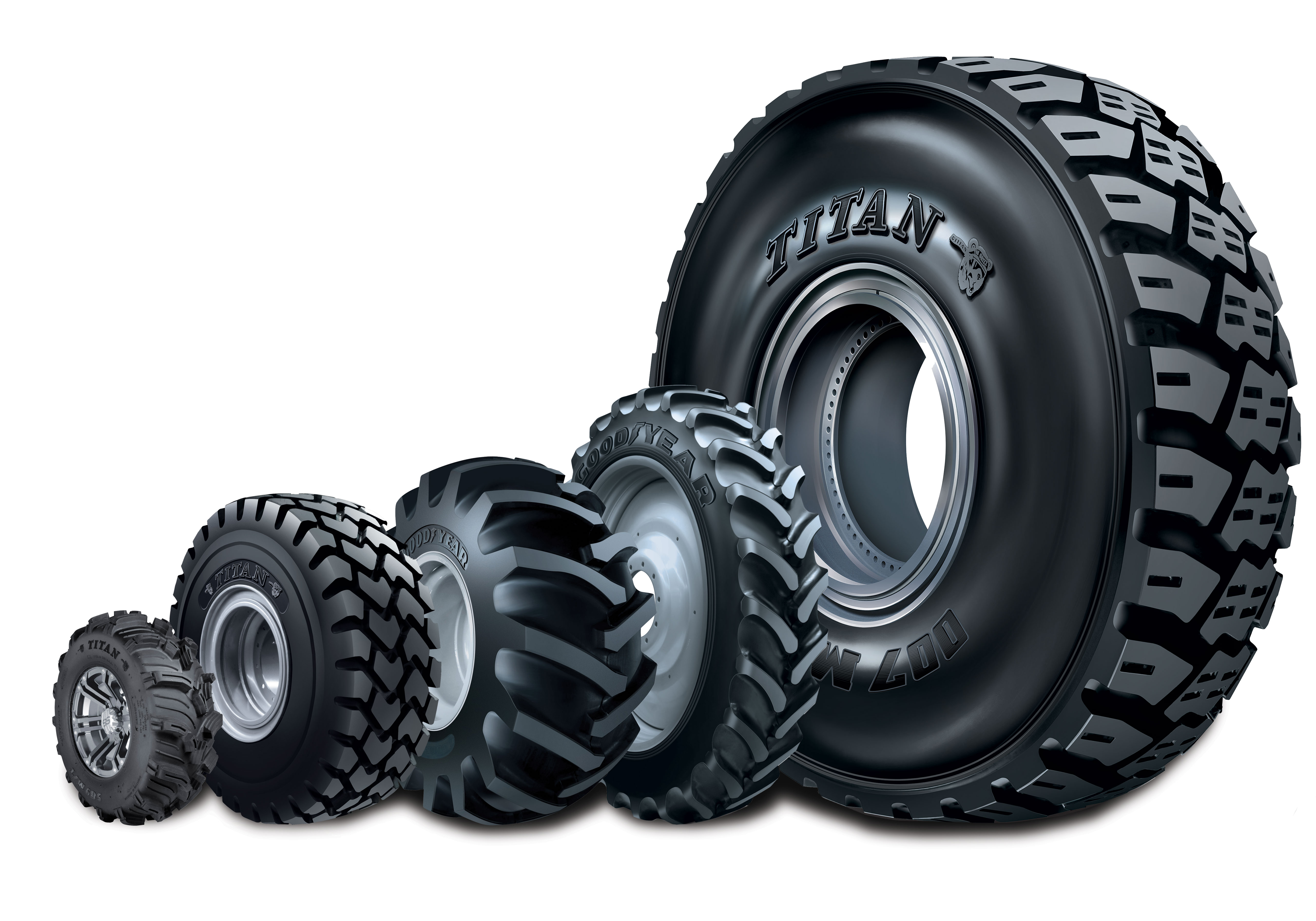 Titan and Goodyear Farm Tires