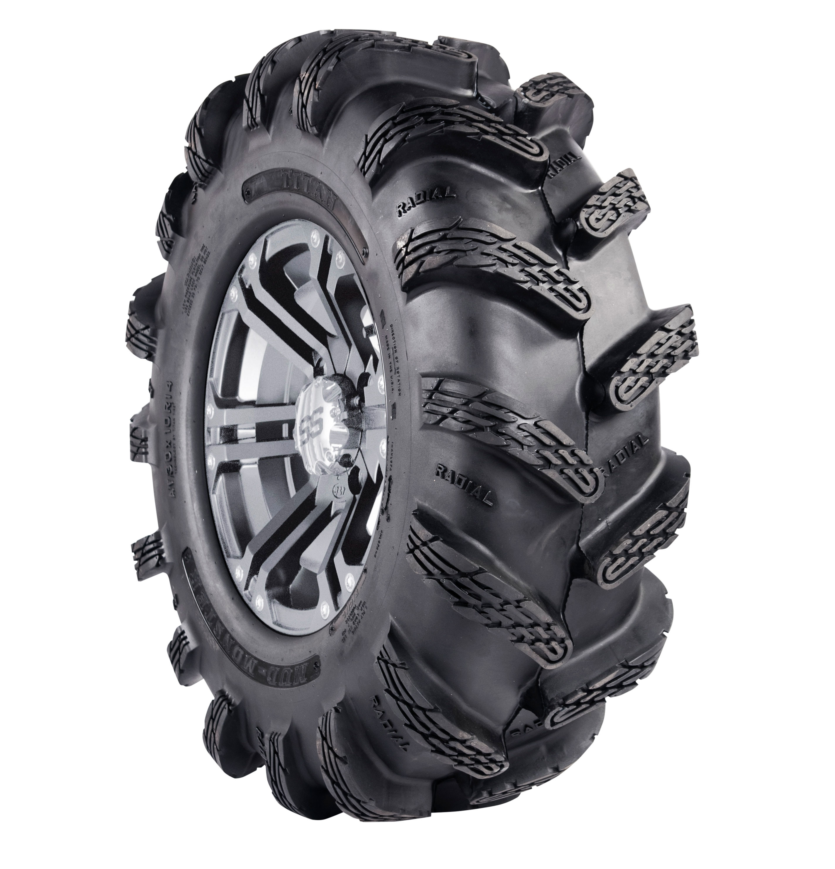 mud monster ATV tire