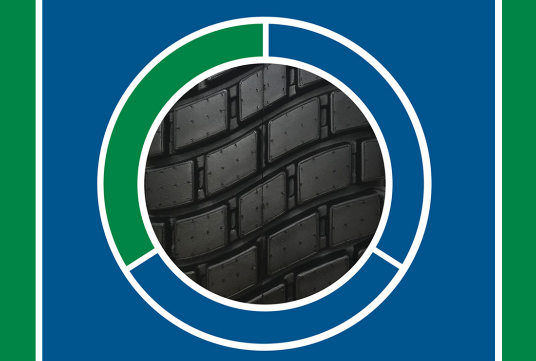 R14T Turf Hybrid Tire Component